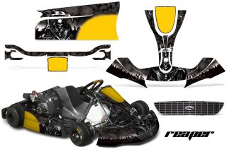 AMR Racing Kart Graphic Kit Righetti Ridolfi XTR14 RR Decals Part Grim