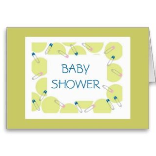 Modern Baby Shower Invitation Cards