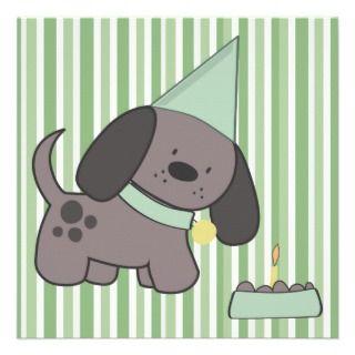Puppy Dog BBQ Party Picnic Custom Card Invite