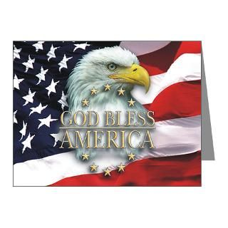 Air Force Note Cards  God Bless America Note Cards (Pk of 10