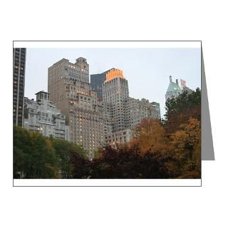 Park Note Cards  View From Central Park Note Cards (Pk of 10