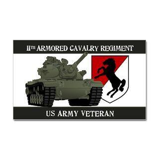 11th ACR M60 Sticker (Rectangle)