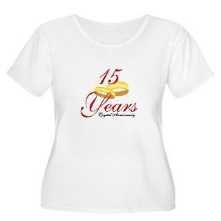 15Th Wedding Anniversary T Shirts  15Th Wedding Anniversary Shirts