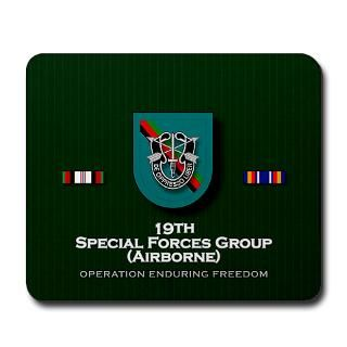 19th special forces grp abn oef ua mousepad $ 19 00