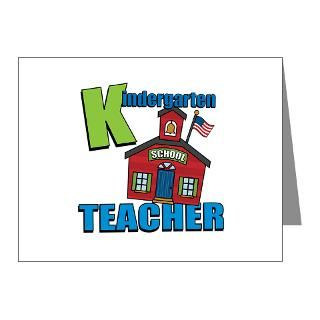 1512Blvd Note Cards  Kindergarten Teacher Note Cards (Pk of 20