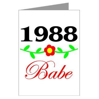 1988 Gifts > 1988 Greeting Cards > 21st Birthday Greeting Card