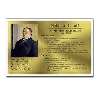 27 William H. Taft Postcards (8 Pack) for $9.50
