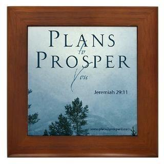 Jeremiah 29 Framed Art Tiles  Buy Jeremiah 29 Framed Tile