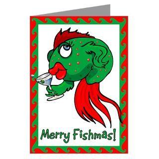 Fish Christmas Greeting Cards  Buy Fish Christmas Cards