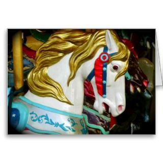 Horse Customizable Birthday Invitations Greeting Card