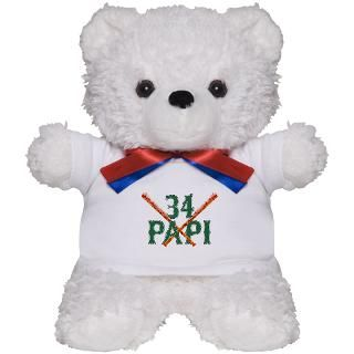 Papi 34 Teddy Bear for $18.00