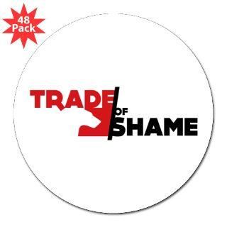 Trade of Shame 3 Label Sticker (48 pk)
