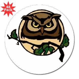 Owl Tree 3 Lapel Sticker (48 pk) for $30.00