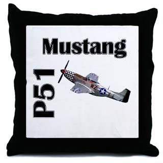 Air Force Gifts  Air Force More Fun Stuff  P51 Mustang Throw