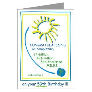 Happy 59Th Birthday Greeting Cards  Buy Happy 59Th Birthday Cards
