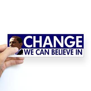believe in obama sticker barack obama change we can believe in $ 4 65
