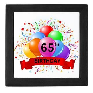 Happy 65Th Birthday Keepsake Boxes  Happy 65Th Birthday Memory Box