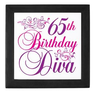 65Th Birthday Keepsake Boxes  65Th Birthday Memory Box