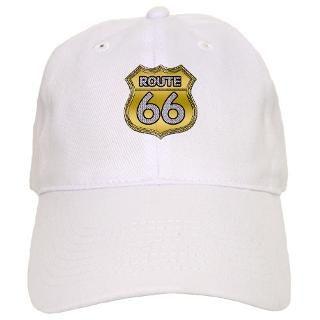 Route 66   Bling Baseball Cap