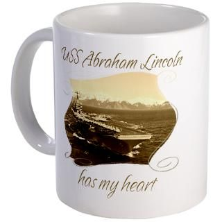 Uss Abraham Lincoln Mugs  Buy Uss Abraham Lincoln Coffee Mugs Online