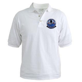 USS George Washington CVN 73 Golf Shirt by quatrosales