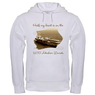Uss Abraham Lincoln Hoodies & Hooded Sweatshirts  Buy Uss Abraham