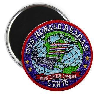 USS Ronald Reagan CVN 76 Magnet for $4.50