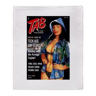 Bettie Page Earth Girl Stadium Blanket for $74.50