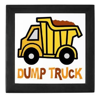 Toy Dump Truck Christmas Stocking by nitasnook