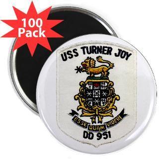 USS TURNER JOY 2.25 Magnet (100 pack)