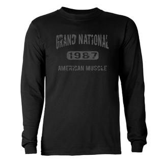 87 Grand National Gnx Long Sleeve Ts  Buy 87 Grand National Gnx Long
