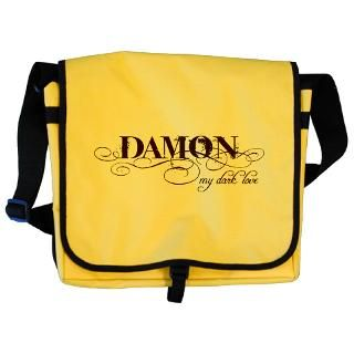vampire diaries damon black messenger bag $ 20 89