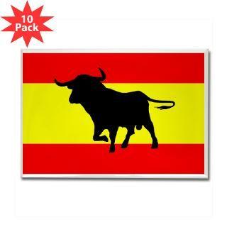 spanish bull flag magnet 10 pack $ 24 95