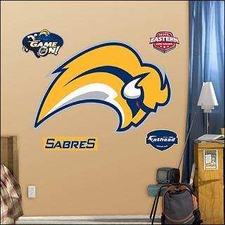 buffalo sabres logo fathead wall graphic $ 89 99
