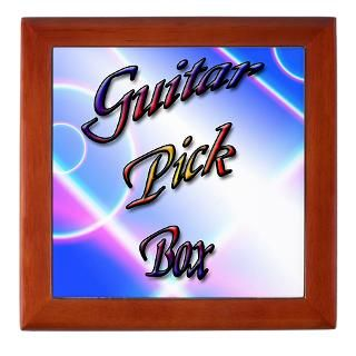 Guitar Picks Keepsake Boxes  Guitar Picks Memory Box