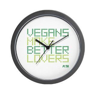 vegan make better lovers wall clock $ 14 99
