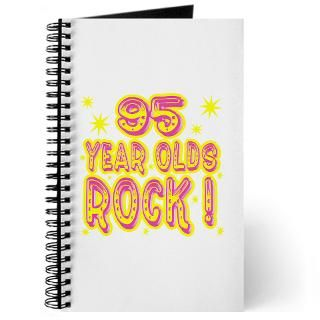 95 Year Olds Rock Journal for $12.50