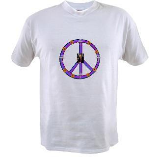 atomic daisy peace symbol value t shirt $ 17 95