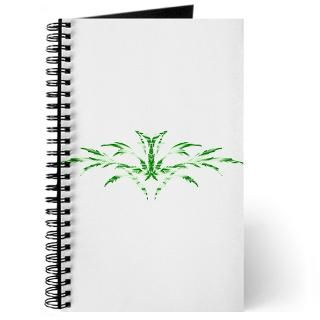 Magical Green Leaf  Tattoo Design T shirts and More