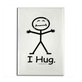 Hug  BusyBodies Stick Figure T shirts and unique Gifts