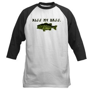 Kiss my Bass Womens Plus Size V Neck T Shirt