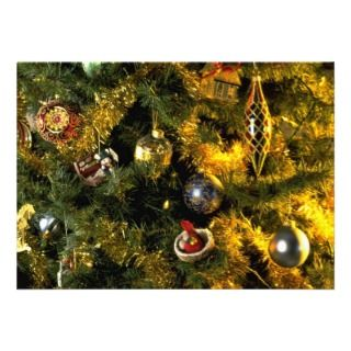 Unique Christmas tree ornaments Custom Invites