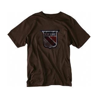 New York Rangers Old Time Hockey Chocolate Fashion T Shirt