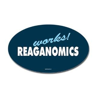 Reaganomics Works  RightWingStuff   Conservative Anti Obama T Shirts