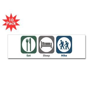 Eat Sleep Hike 3 Lapel Sticker (48 pk)