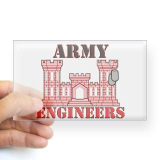 Army Engineer Stickers  Car Bumper Stickers, Decals