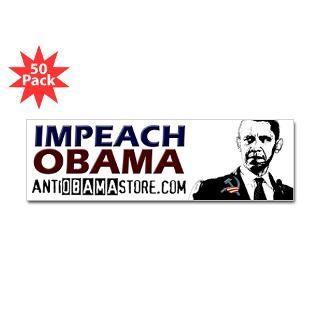impeach obama bumper sticker 50 pk $ 135 99