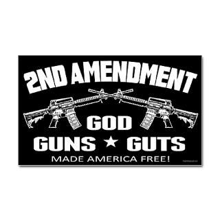 God Guts Guns Stickers  Car Bumper Stickers, Decals