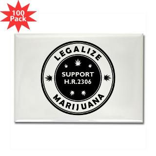 legal marijuana support hr2306 rectangle magnet 1 $ 151 99
