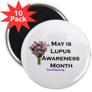Lupus Awareness Month 2.25 Magnet (10 pack)
